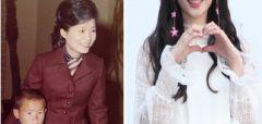 박근혜랑 도플갱어 수준으로 닮아 숨겨둔 딸 소리 들은 아이돌