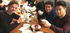 한국와 막걸리 먹으며 회식한 영화 `메이즈러너3` 삼인방