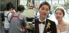 부산에서 양곱창 데이트 즐긴 송중기♥송혜교 부부
